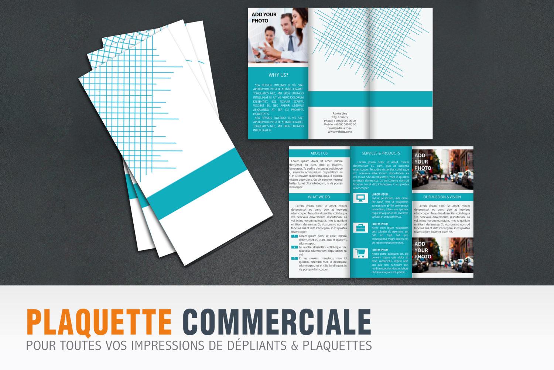 Plaquette Commerciale